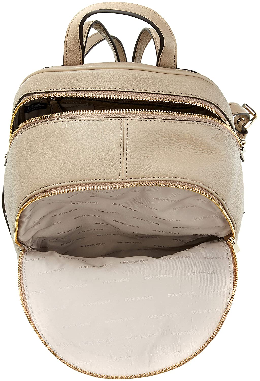 246e7be03a07 Amazon.com  Michael Kors Womens Rhea Zip Backpack Handbag Beige (TRUFFLE)   Shoes