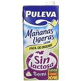 Puleva Mañanas Ligeras Leche Semidesnatada sin Lactosa - 1 l