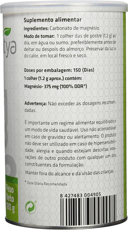 SOTYA - SOTYA Carbonato de Magnesio Bote 180 gr: Amazon.es: Salud ...