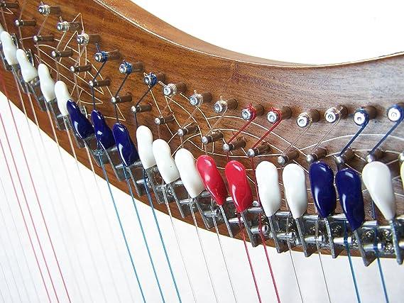 Palancas de cuerdas de Arpa de pedestal Soporte Palanca Arpa 36 grande con Full incluye bolsa y cuerdas extra: Amazon.es: Instrumentos musicales