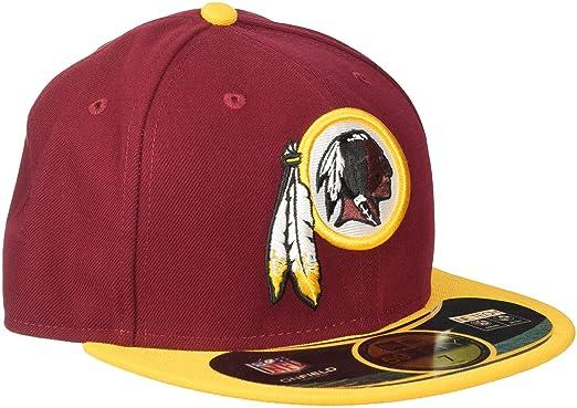 Amazon.com   NFL Mens Washington Redskins On Field 5950 Burgundy Game Cap  By New Era   Sports Fan Baseball Caps   Clothing d0e3d619f38
