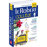 Le Robert College 2018 with internet connection: French monolingual dictionary for College students (Les Dictionnaires Scolaires)
