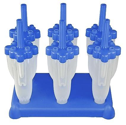 Tovolo 80-8001B - Moldes para helados en forma de cohete