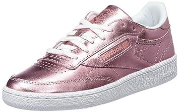 170a763096d2c Reebok Club C 85 S Shine Chaussures de Tennis Femme