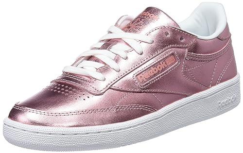 Reebok Club C 85 S Shine, Zapatillas de Tenis para Mujer: Amazon.es: Zapatos y complementos