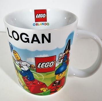 Amazon.com: 12 Oz. LEGO Orlando Personalized Ceramic Beverage Mug ...
