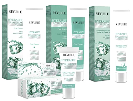 Revuele Hydralift Hyaluron - Estuche con crema de día, crema ...