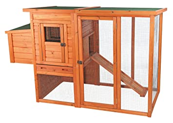 Amazon.com: Trixie Pet Products gallinero con vista: Jardín ...