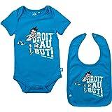 Body + Bavoir OM - Collection officielle Olympique de Marseille - Taille bébé garçon