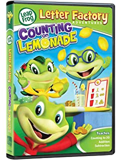 leapfrog letter factory adventures counting on lemonade