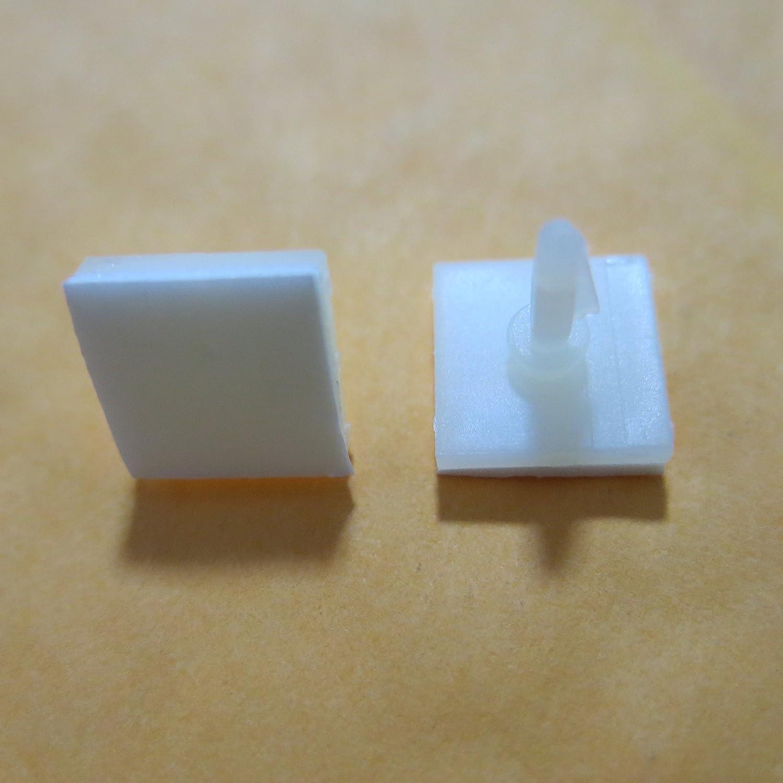50 oder 100x Kunststoff Nylon Snap-In Spacer Abstandshalter 3mm Loch pcb