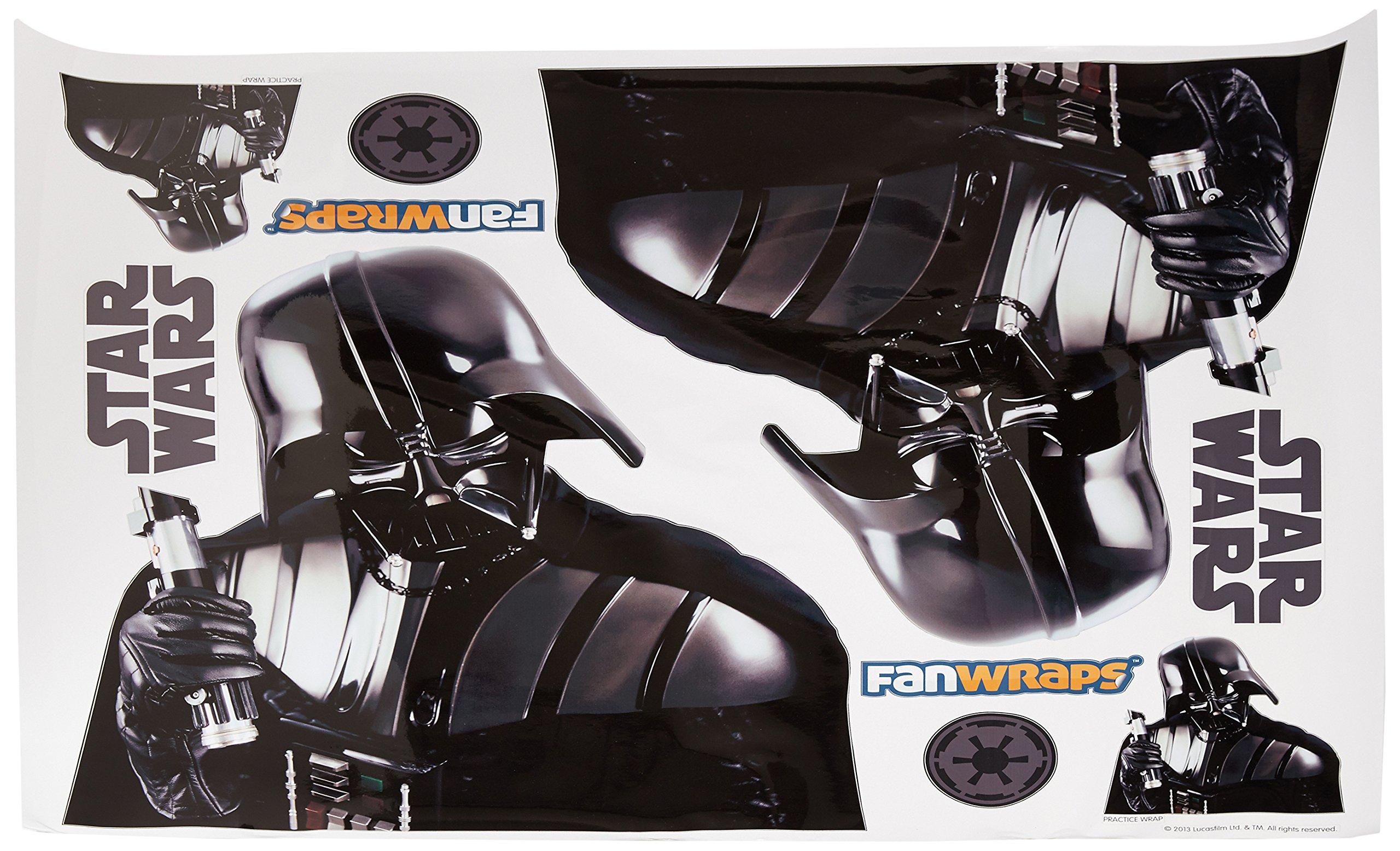 FanWraps Star Wars Darth Vader Vehicle Graphics Kit, X-Large