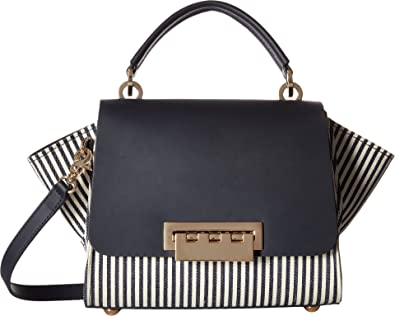C Zac Posen Eartha Stripe Top Handle Bag
