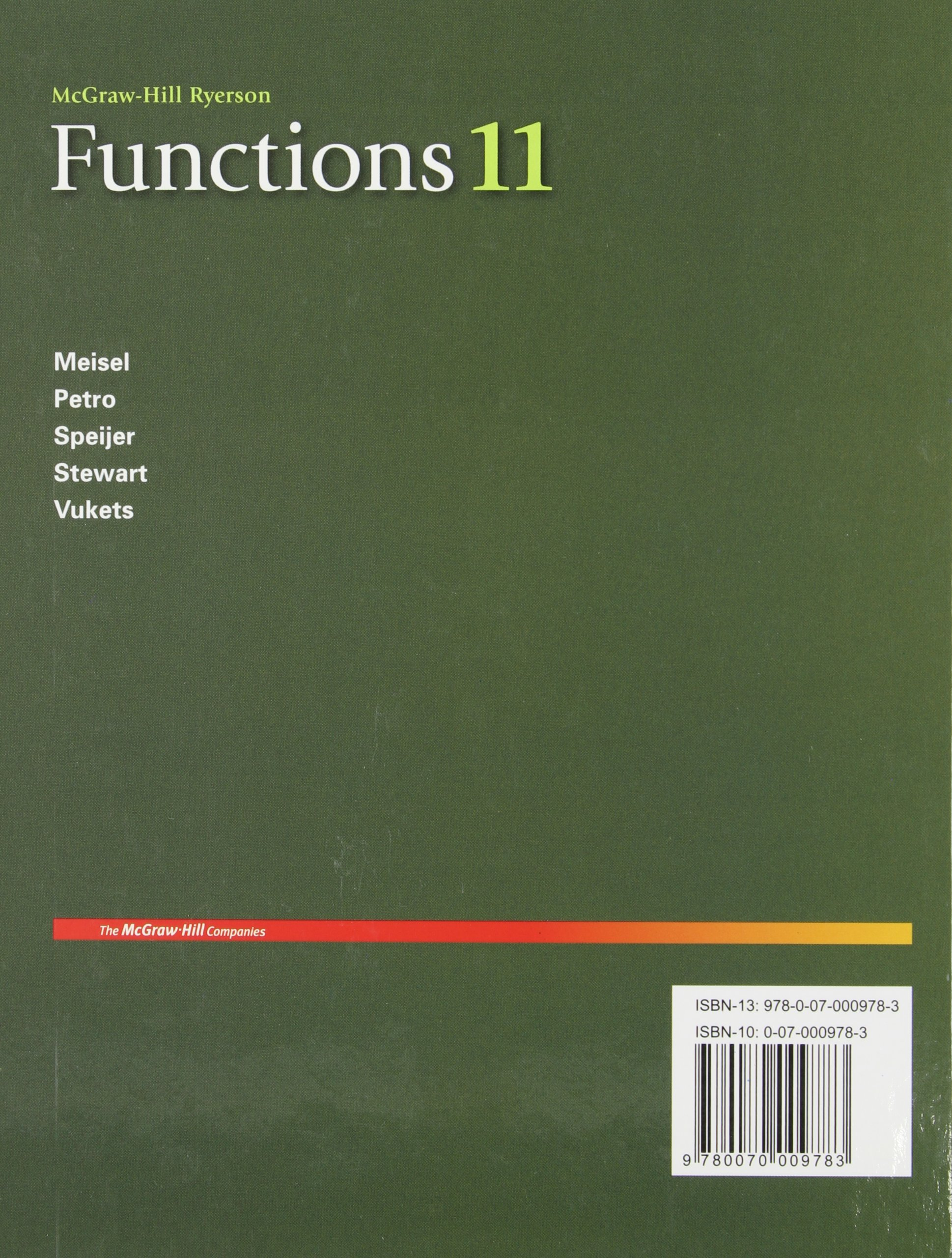 Mcgraw hill ryerson mathematics 11 ebook coupon codes choice image functions 11 student edition jacob speijer roland meisel david functions 11 student edition jacob speijer roland fandeluxe Image collections