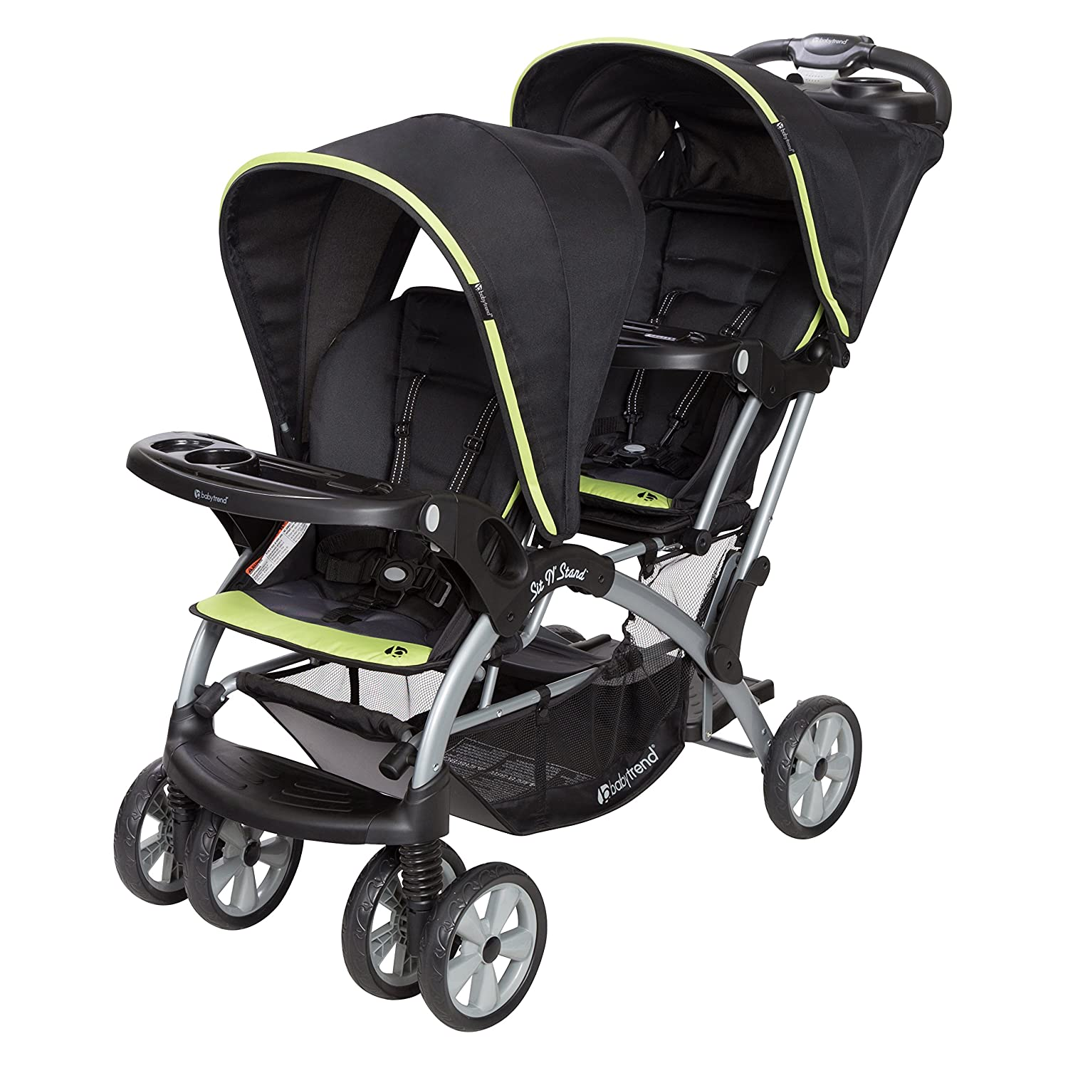 Amazon.com: Baby Trend Sit n Stand - Cochecito doble: Baby