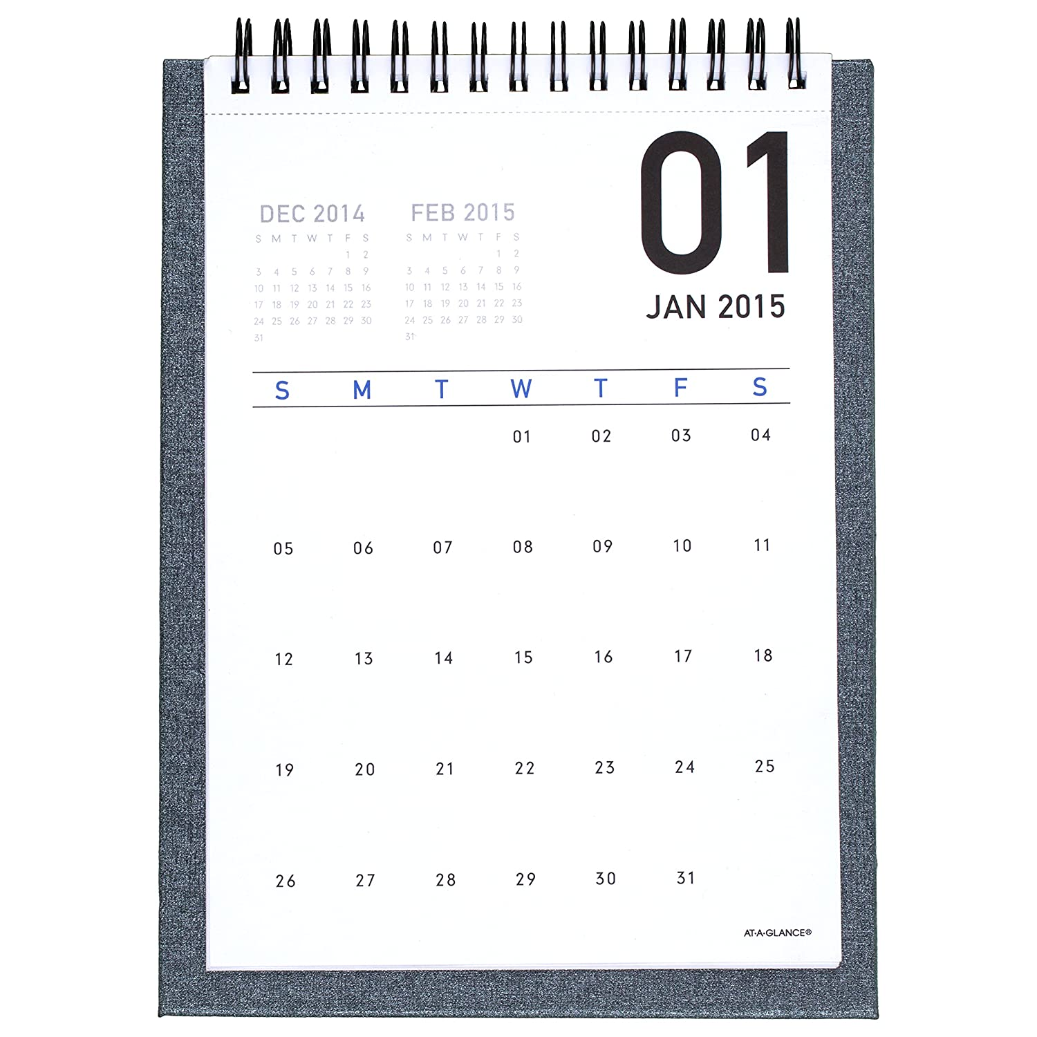 Office Calendar 2016 : Amazon at a glance monthly desktop easel calendar