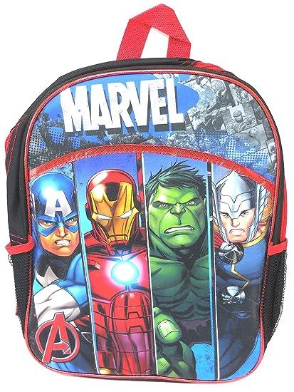 4c1b099b1a59a1 Amazon.com: Marvel Avengers Large Backpack 15
