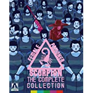 Female Prisoner Scorpion: The Complete Collection includes Scorpion, Jailhouse 41, Beast Stable and Grudge Song
