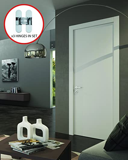 Planum 0010 Modern Wood Solid Flush Regural Interior Door 30x 80