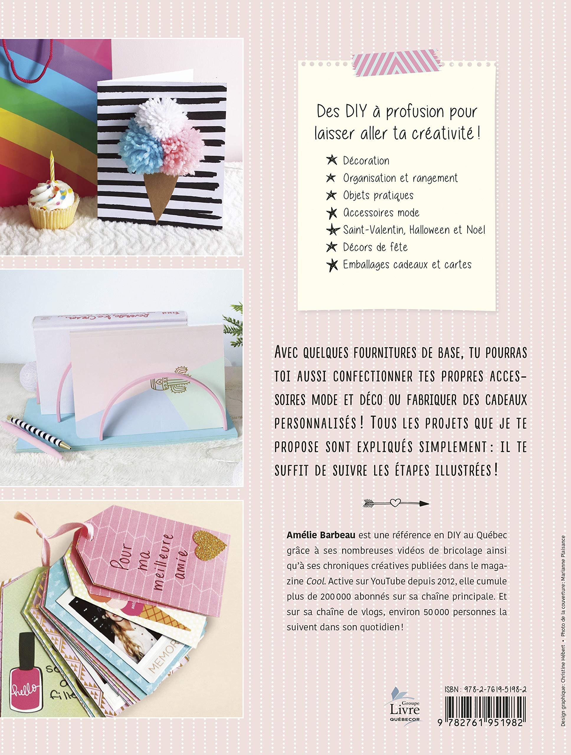 Les Diy D Amelie 70 Projets Creatifs Pour Colorer Ta Vie