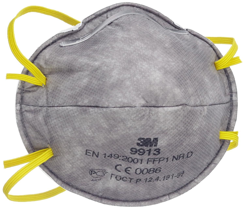3M 9913 - Mascarilla FFP1 NR D sin v&aacute; lvula para vapores org&aacute; nicos < VLA (20 unidades) 3M Deutschland GmbH (IBG) (EU) GT500078024