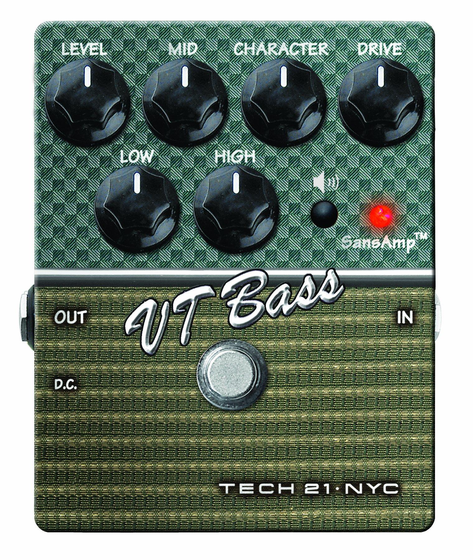Tech 21 Character Series CS-VTB.2 VT Bass V2 Bass Expression Effect Pedal by tech21