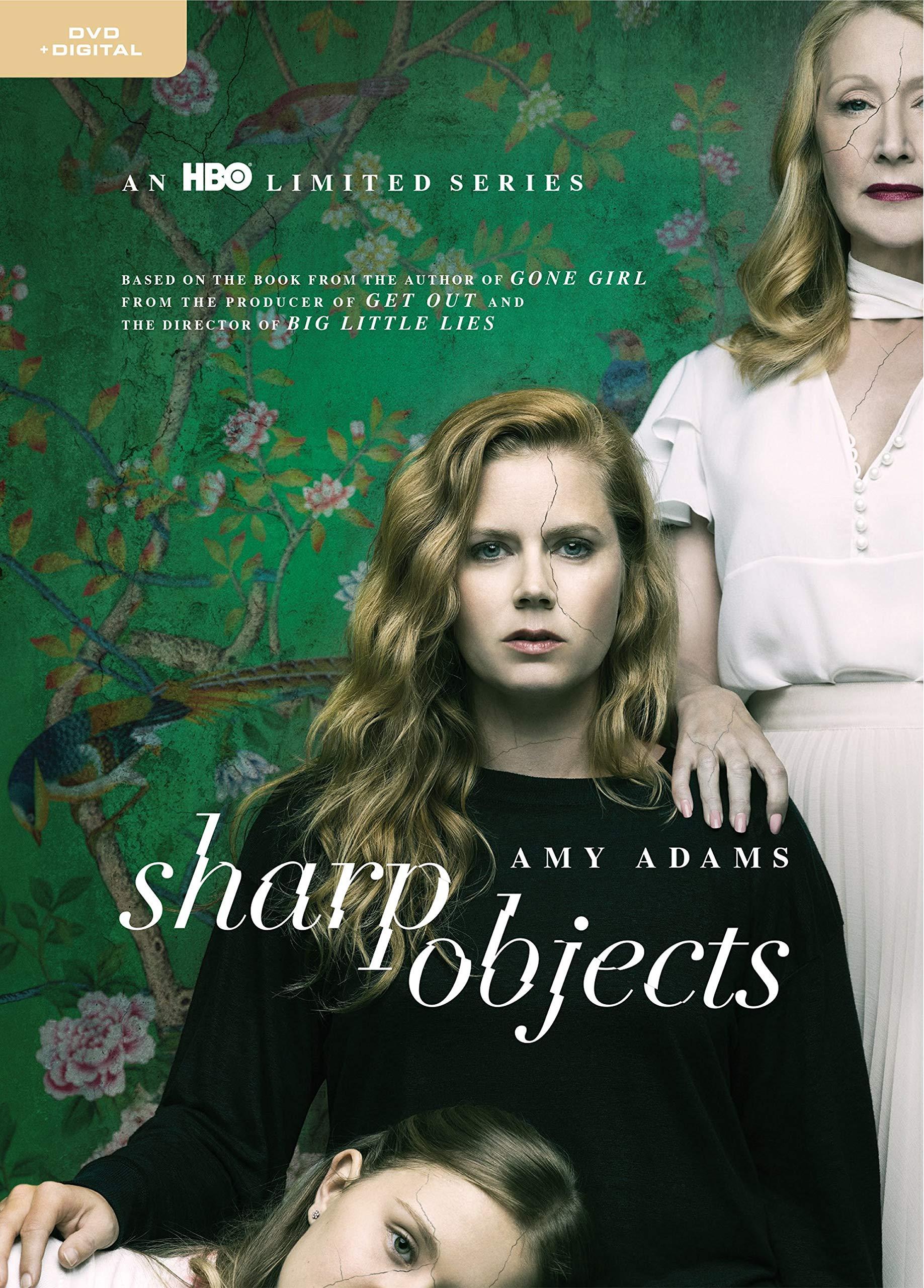 DVD : Sharp Objects (Standard Edition, Ultraviolet Digital Copy, Eco Amaray Case, Digital Copy, 2 Pack)