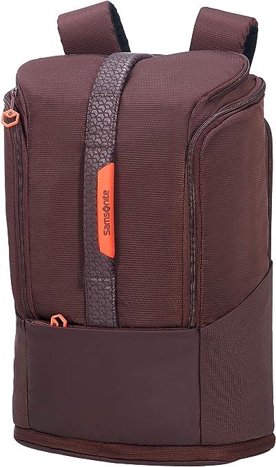 Samsonite Hexa-Packs - Laptop Backpack Medium Expandable - Sport Mochila tipo casual 49 cm, 26 Morado (Aubergine)