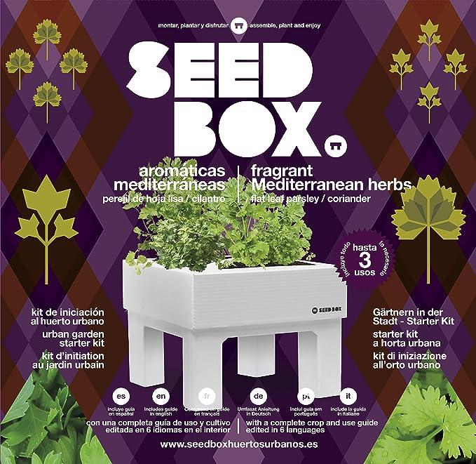 SeedBox Seed Box SBCOAM - Aromáticas mediterráneas: Amazon.es: Jardín