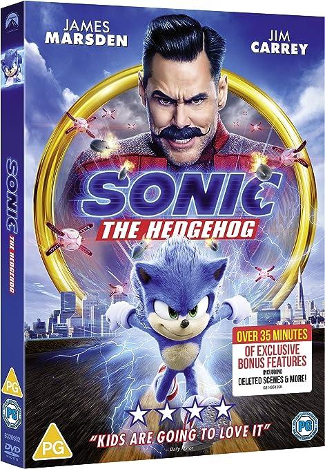 Sonic The Hedgehog Dvd 2020 Amazon Co Uk Dvd Blu Ray