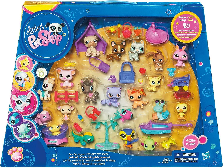 Littlest Pet Shop Hasbro Pack 20 Pet Shop - Mascotas Pet Shop (20 ...