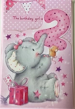 Happy 2nd birthday girl elliot buttons birthday greetings card happy 2nd birthday girl elliot buttons birthday greetings card m4hsunfo