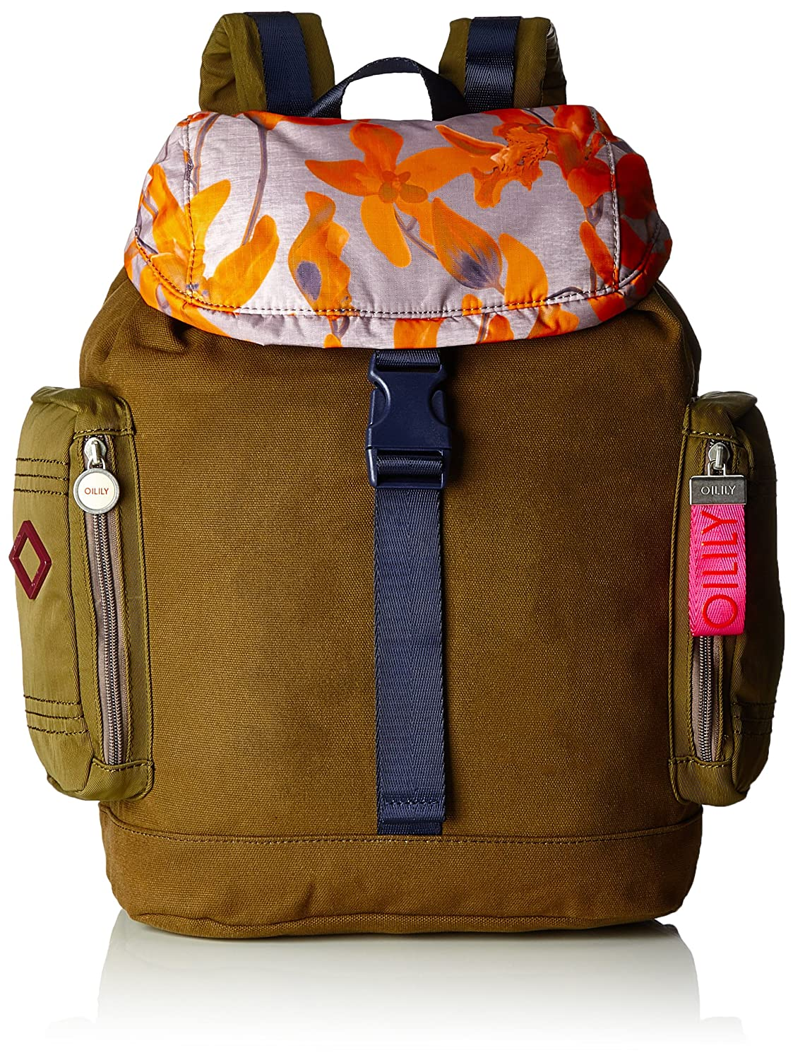 Oilily - Whoopy Backpack Lvf, Mochilas Mujer, Braun (Mud), 16.5x44x30 cm (B x H T): Amazon.es: Zapatos y complementos