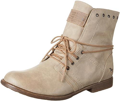 Mustang 1134-602, Botines Para Mujer, Blanco (243 Ivory), 40 EU: Amazon.es: Zapatos y complementos