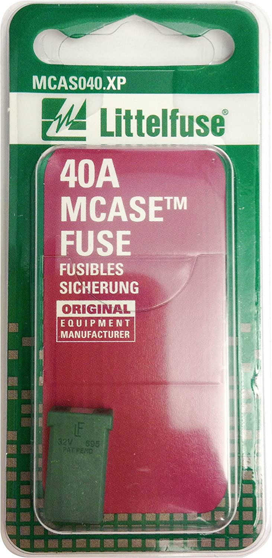 Littelfuse MCAS040.XP MCASE Green 32V 40 Amp Fuse
