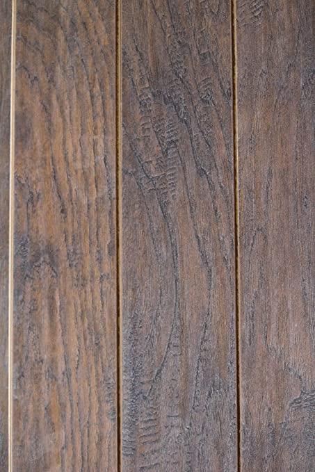 Home decorators collection hand scraped tanned hickory 12 mm thick x 5 9