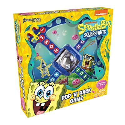 Spongebob Squarepants Pop 'N' Race: Toys & Games