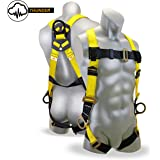 KwikSafety THUNDER 3D Deluxe Fall Protection Body Safety Harness   OSHA Approved ANSI Compliant Industrial Roofing Tool Personal Protection Equipment   Construction Carpenter Scaffolding Contractor