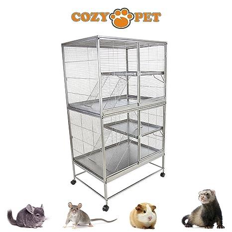 Cozy - Jaula para roedores de mascotas para rata, hurón ...