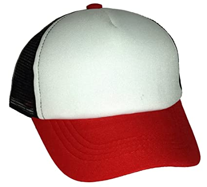 red white blue baseball caps and striped cap hat toddler kid blank mesh trucker black