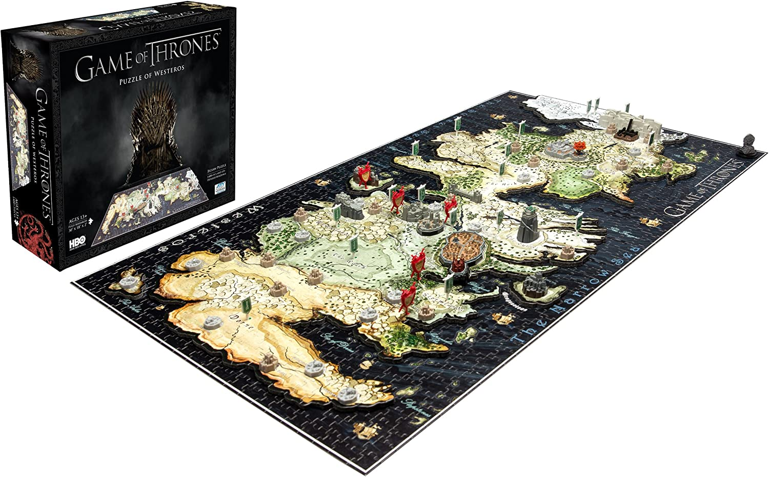 4DCityscape Game of Thrones Puzzle 4D di Westeros