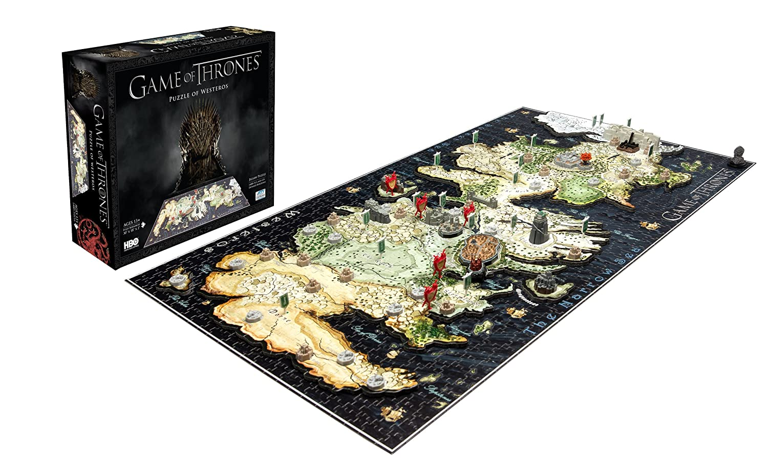 4D Cityscape Game of Thrones: Westeros Puzzle on crown lands map game of thrones, detailed map of westeros game of thrones, google map game of thrones,
