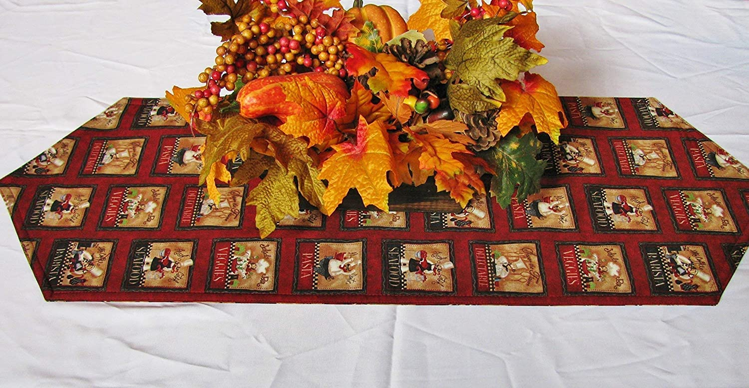 superior Fat Chef Table Runner Part - 3: Fat Chef Table Runner -(Various Sizes-)