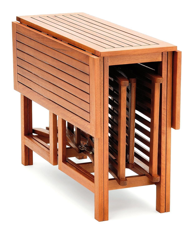 Belardo Balkon Set Minoa, Braun Stuhl: 44 X 55 X 84 Cm, Tisch: 100 X 100 X  72 Cm Jetzt Bestellen