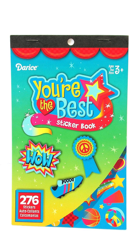 WeGlow International WGI Youre the Best Sticker Books 4 Books Virginia Toy 77stb98