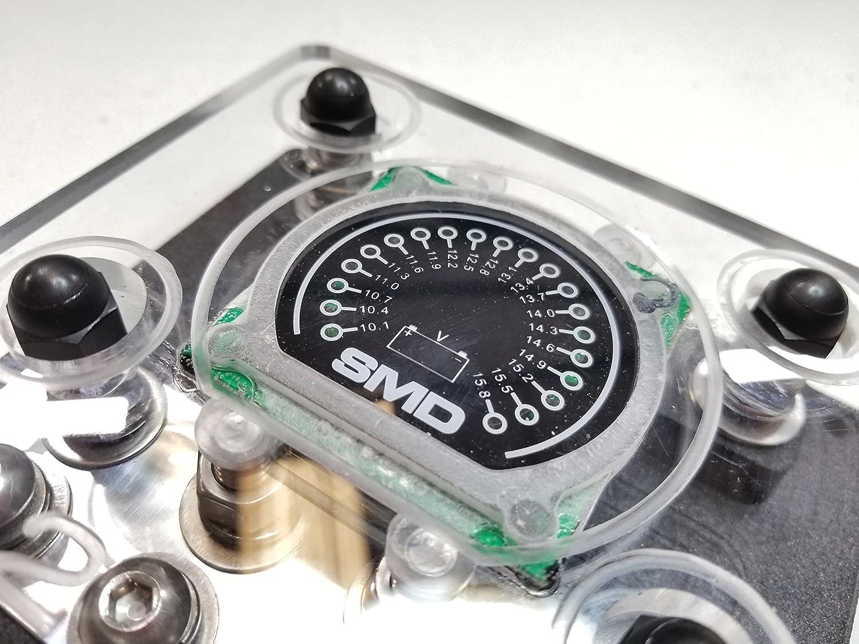 SMD Quad XL ANL Fuse Block Cover W//Integrated SMD VM-1 Volt Meter