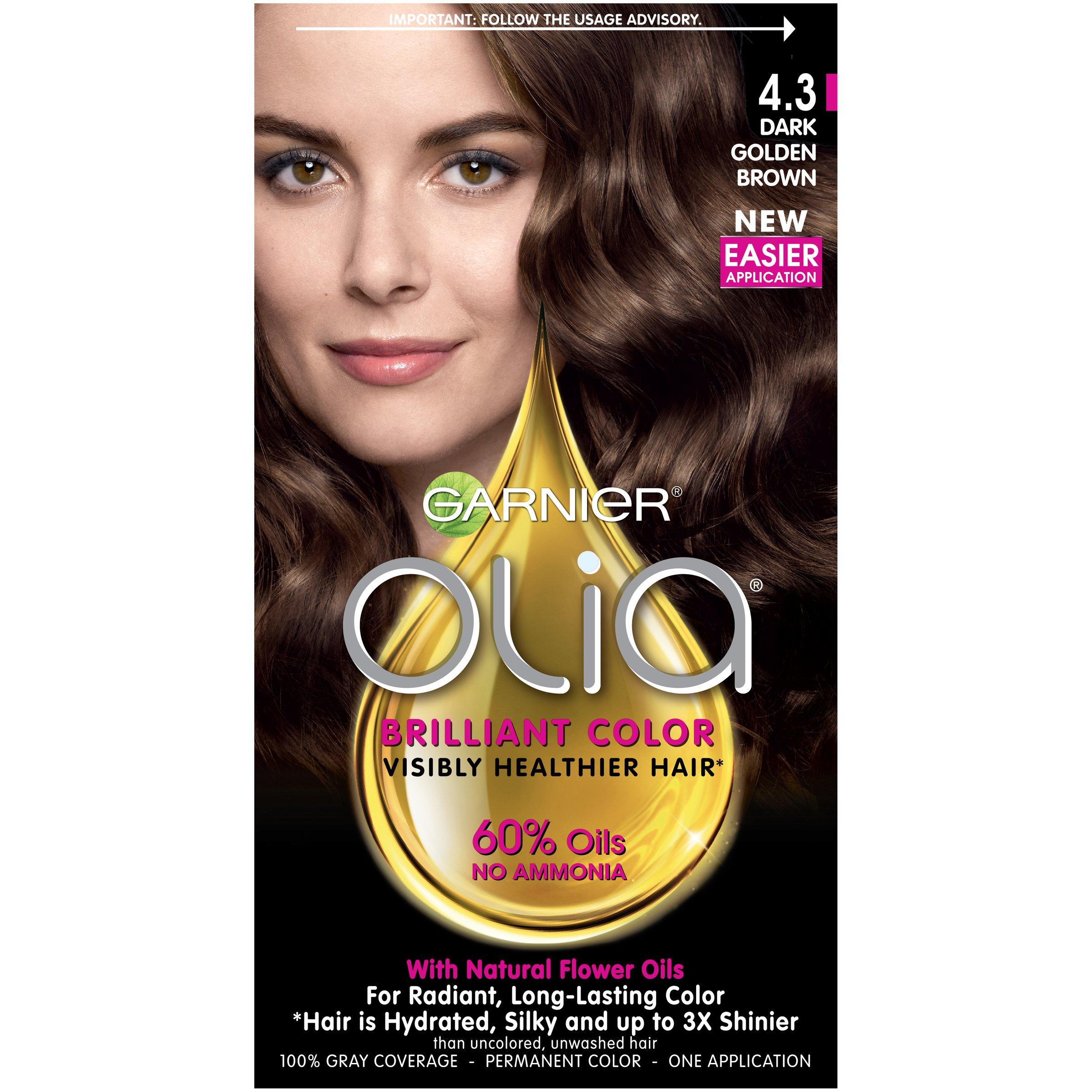 Amazon Garnier Olia Hair Color 460 Dark Intense Auburn