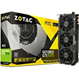 Zotac NVIDIA GeForce GTX 1070 AMP Extreme 8GB GDDR5 DVI/HDMI PCI-Express Video Card (ZT-P10700B-10P)