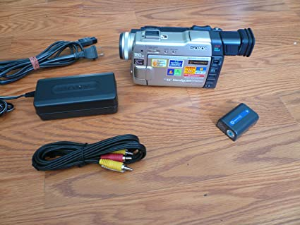 Amazon com : sony DCR-TRV9e pal system miniDV digital video