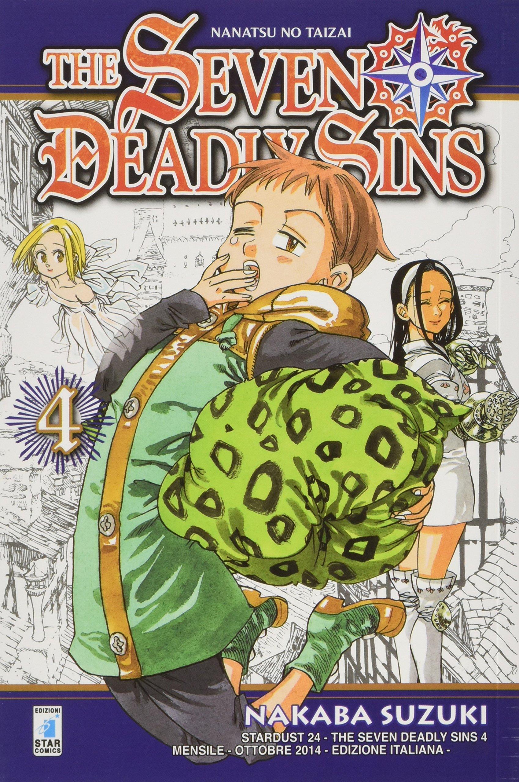 The seven deadly sins: 4 Copertina flessibile – 2 ott 2014 Nakaba Suzuki Star Comics 8869200914 FANTASY